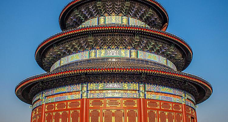 Beijing China Temple of heaven, China landmark, Chinese monument, Asia