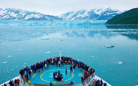 radiance hubbard glacier alaska