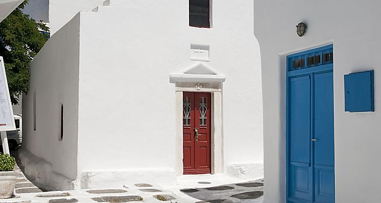 Destination, Mykonos, Greece,Greek Islands, Mykonos is a popular tourist destination in the Greek islands of the Cyclades group, situated in the middle of the Aegean Sea,Europe ,