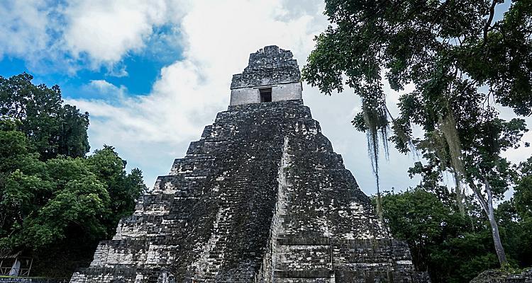 Guatemala Ancient Mayan Tikal tile2