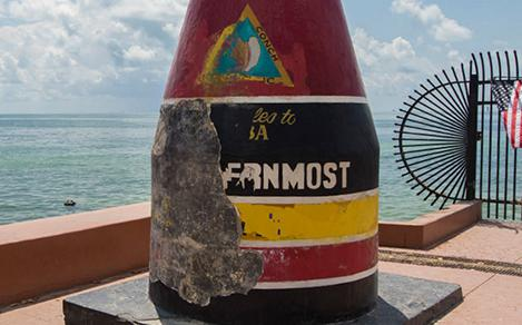 irma key west southernmost point