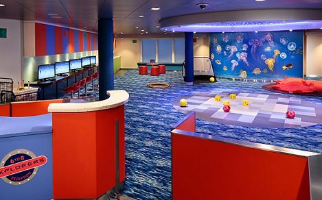 Adventure Ocean Youth Program area, consider one of the best activities for kids on a cruise.