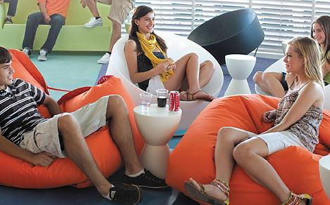 Teens and Tweens relaxing on a cruise in one activity designed especially for the older kids.