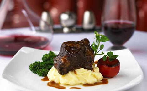 Chops Grille, Restaurant, Food and Beverage, Dining,  Beef Short Ribs, meat, entr?e, cuisine