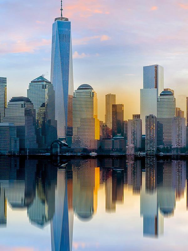 Skyline New York, City