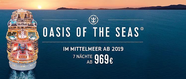 Oasis of the Seas Mittelmeer Kreuzfahrt