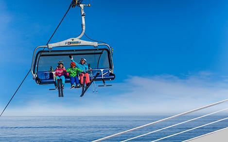 piste of the seas skilift