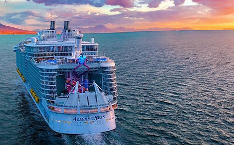 Recognized for its dazzling onboard entertainment, groundbreaking deck side neighborhoods, thrilling attractions and wanderlust-fueled itineraries, this award-winning Oasis Class favorite brings adventure to soaring new heights.