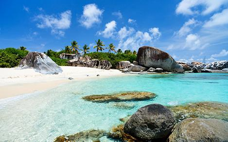 Beautiful White Sand Beaches in Virgin Gorda