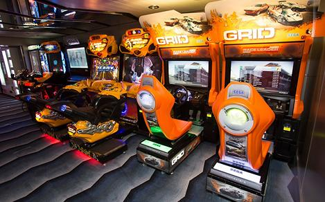 Arcade Game Car Racing On Board