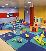 Navigator revitalization, NV new, renewed NV, new Royal Baby Room, tots, toddlers, daycare, nursery filled with bright toys and play space