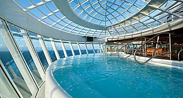 Allure of the Seas, Whirlpool, relax, water,