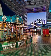 Boardwalk and Carousel at Night