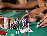 baccarat table card game chips bets onboard things to do casino