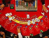 blackjack table card game players and dealer onboard things to do casino