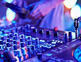 Close Up of the DJ Mix Table