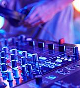 club twenty DJ sound board music activity