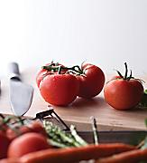 Tomatoes on the Cutting Board