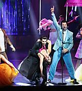 HM, Harmony of the Seas, Grease, Royal Theater, Deck 4 Forward, Broadway Production, show, theatre, actors, singers, singing, dancers, dancing, drama, musical, costumes,