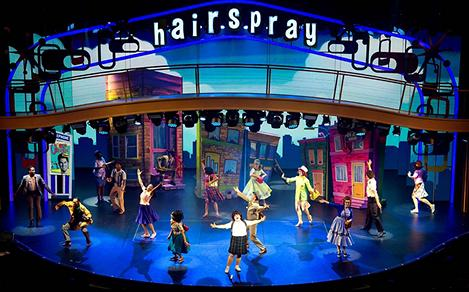 hairspray broadway at sea musical dance