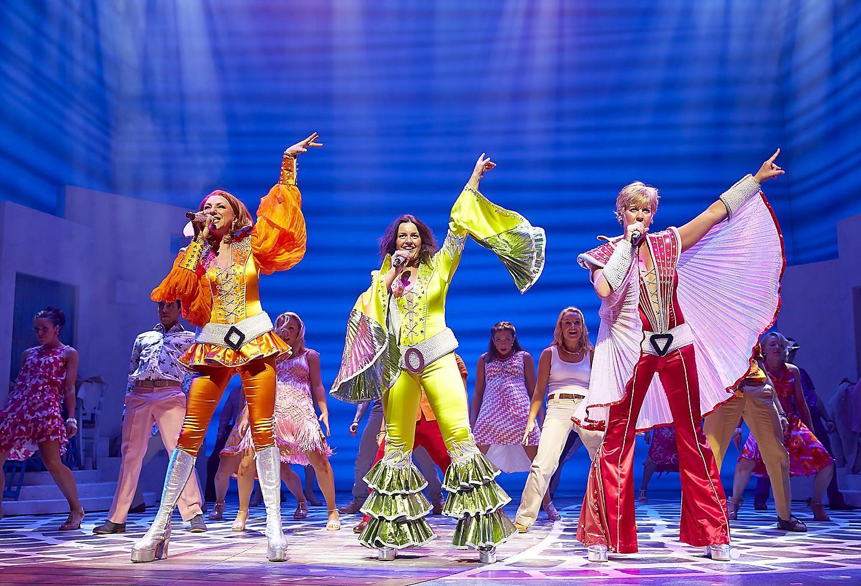 Mamma Mia show onboard Allure of the Seas