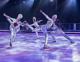 Synchronized Ice Skaters on Symphony of the Seas