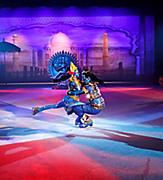 Performers Ice Skating