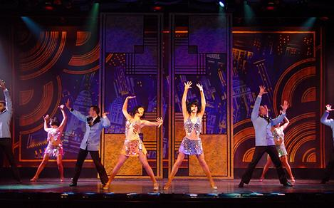 Grandeur of the Seas Rhythm and Rhyme Dancers