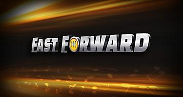 The logo of the Fast Forward original production by Royal Caribbean