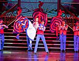 Dancers in Patriotic Costumes