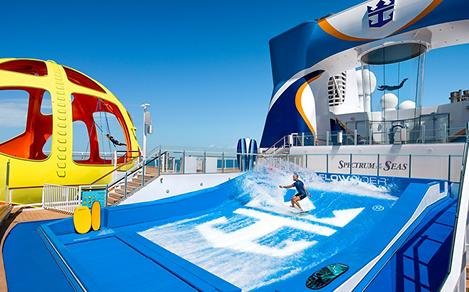 Flowrider, Skypad, and Ripcord Activities