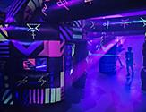 laser tag onboard activity