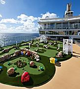 Allure of the seas, Dunes, golf, games,