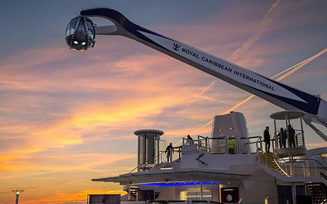 Quantum of the Seas North Star Sunset Ocean Views