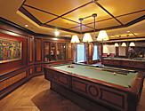Pool Table at Billiard Room Ready to Play