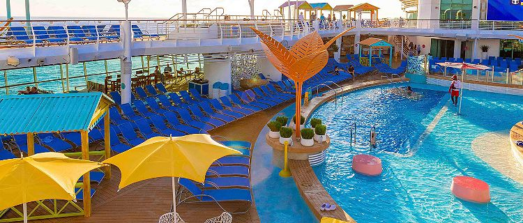 Navigator of the Seas Pool Deck