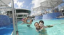 GR, Grandeur, Grandeur of the Seas?, Family, Children, pool, sky, open deck, blue sky, relaxing, family time, swimming, water