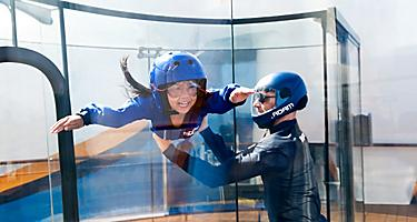 iFly by Ripcord Little Girl Flying