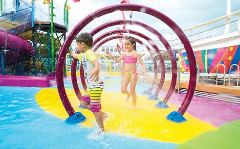 Kids Playing at Splashaway Bay