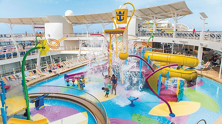 Image result for Voyager of the Seas splash