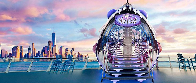 The Ultimate Abyss with New York Skyline