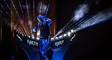 QN Entertainment, Two70, Earth Harp, Sonic Odyssey, Royal Theatre, live performance, live music, concert, strings