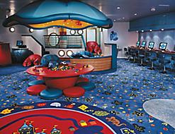 Onboard Adventure Ocean Empty Aquanauts Play Room Kids Spaces Fleetwide