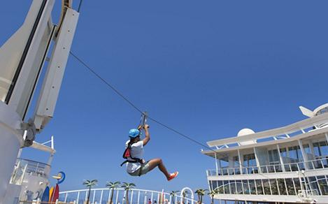 Daytime at the Zip Line