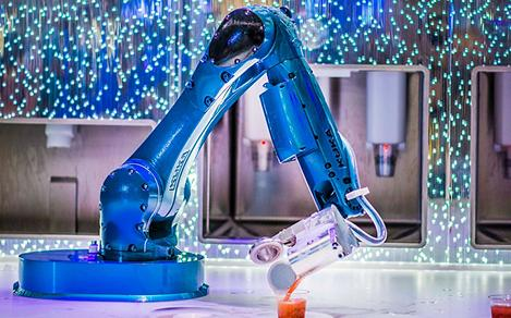 Bionic Bar Cocktail Robot Arm