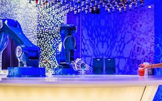 Bionic Bar Serving Cocktails