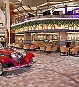Interiors, Allure, Allure of the Seas,  Cafe Promenade,