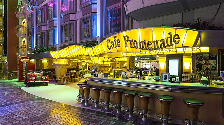 Café Promenade Casual Cruise Ship Food Royal Caribbean Cruises