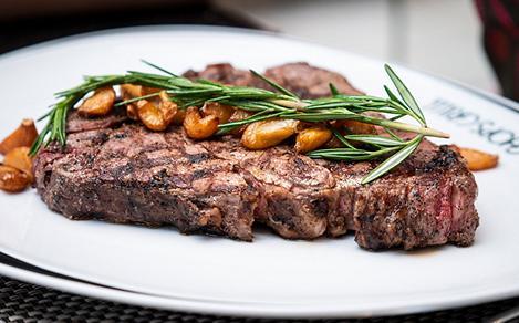 Chops Grille Rosemary Steak Juicy