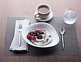 Coastal Kitchen, cruise dining Parfait dessert bowl. Served with fresh berries and a thick & creamy Greek-style yogurt.
